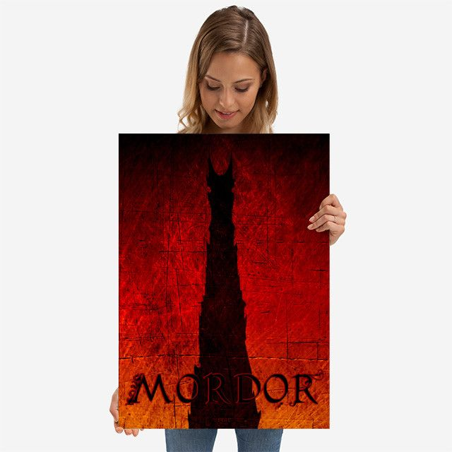 26% OFF all products this weekend  Use code: SPRING26 . Mordor metal print Cinema Movie Poster. #movies #movie #cinema #fantasy #books #bookworm #booklovers #dark #towers #red #ring #art #artist #design #modern #sale #sales #discount #posters #gifts #giftideas #homegifts #39 #wallart #livingroom #decoration #home #homedecor #cool #awesome #giftsforhim #giftsforher #displate #fandom