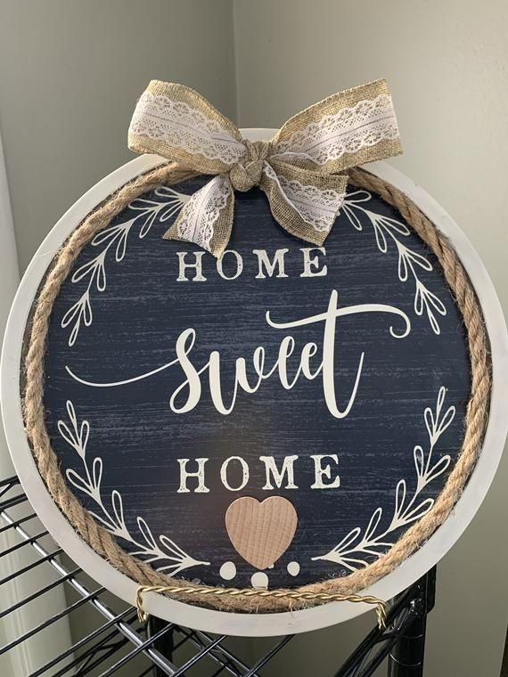 Your Place To Buy And Sell All Things Handmade Home Sweet Home Sign Rustic Sign Home Decor Fa In 2021 Dollar Store Decor Dollar Tree Diy Crafts Diy Dollar Tree Decor