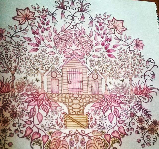 87 Best Johanna Basford Secret Garden Images On Pinterest