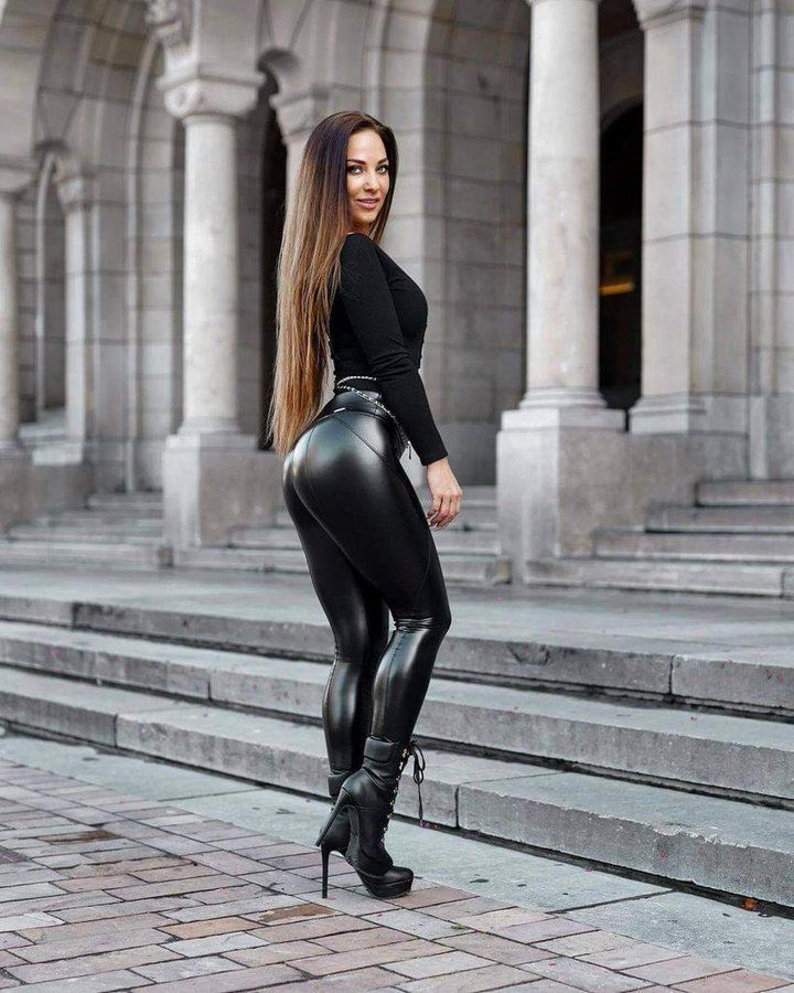 Pin on Leather Latex Ass