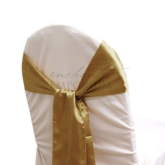 28 best Satin Chair Sashes for Hire images on Pinterest