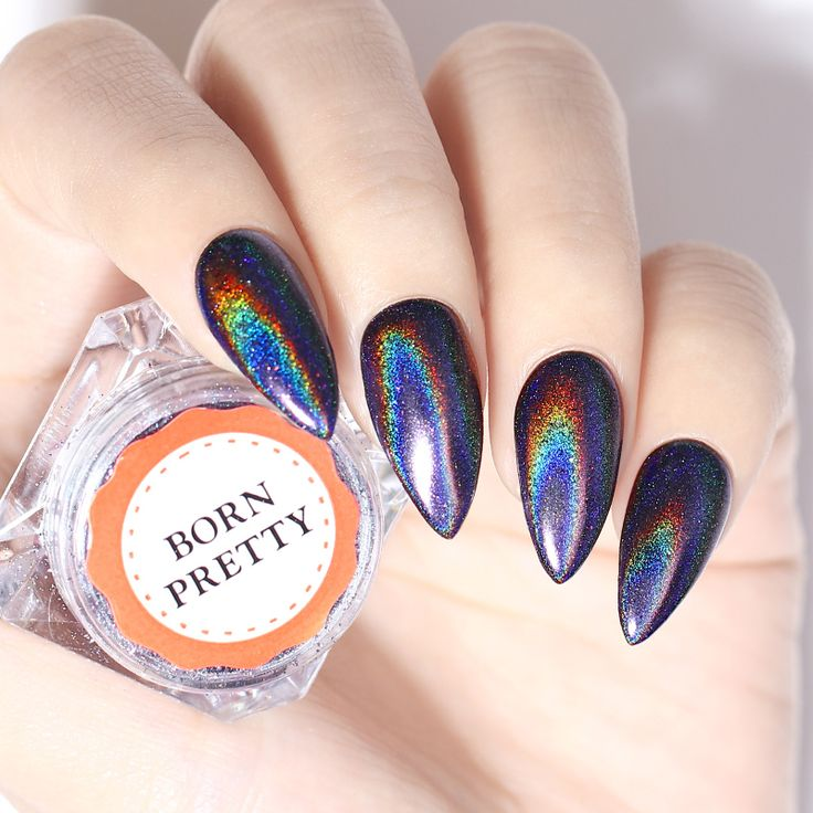 Rainbow Metallic Nail Polish: Best 25+ Holographic Nails Ideas On Pinterest