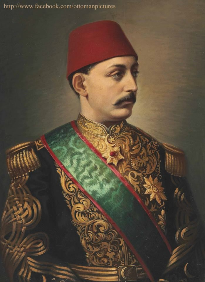 SULTAN MURAD V  Sultan Murad V (21 September 1840 – 29 August 1904) was the 33rd Sultan of the Ottoman Empire who reigned from 30 May to 31 August 1876. Sultan Murad became the Sultan when his uncle Abdulaziz was deposed. He reigned for 93 days before being deposed on the grounds that he was supposedly mentally ill. He died at Çırağan Palace, Ortaköy, Constantinople, and was buried in Constantinople on 30 August 1904. His brother, Abdul Hamid II, ascended to the throne on 31 August 1876.