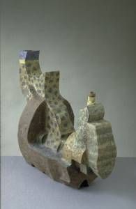 Abstract Clay Teapots
