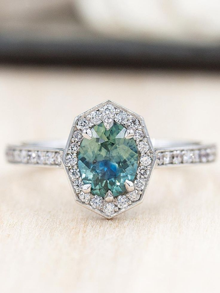 Montana Green Sapphire from Emily Chelsea Jewelry