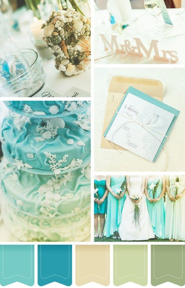 Eine Maritime Hochzeit Strandfeeling In Zauberhaften Farben In