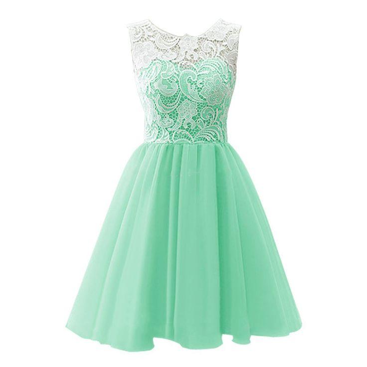 Neue Kinder Mädchen Party blumenmädchen Kleid Baby Mädchen Grün Kleid A-linie Abschlussball-formale Tull Kleid der Mädchen