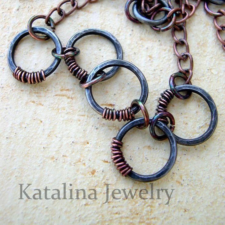 Katalina Jewelry - tutorials: Jump Rings Tutorial - Basic Wire Working Technique Series