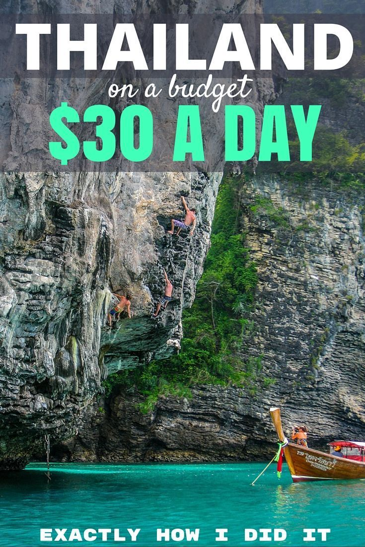 The Cost of Travel in Thailand: Southeast Asia has become a hotspot for travelers looking for adventure on a budget and I show you how you can do it on $30 per day!