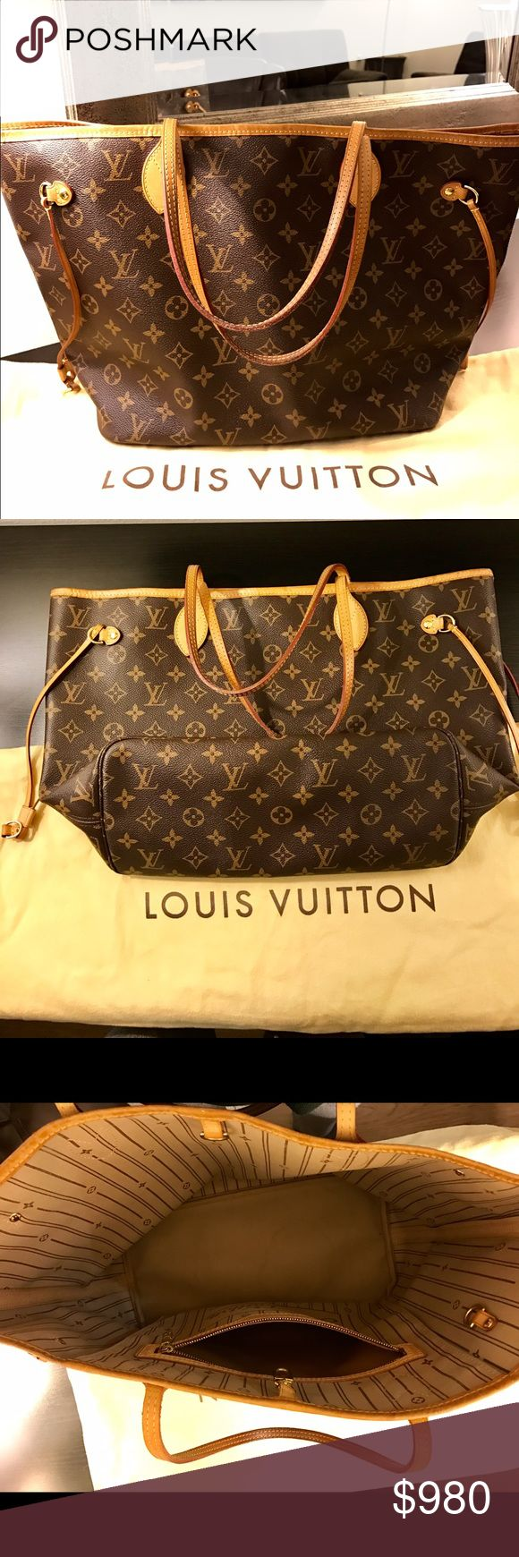 Louis Vuitton Neverfull MM Louis Vuitton Neverfull MM (medium size) in Monogram. Very gently used, signs of wear only inside on the lining. Comes with original dust bad. Purchase personally by me in LV boutique in Berlin. All my shoes, bags and clothes are 100% authentic! ☝️ No trade Louis Vuitton Bags Shoulder Bags