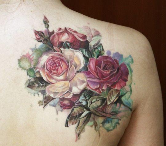 Tattoo Ideas Vintage: Best 25+ Vintage Flower Tattoo Ideas On Pinterest