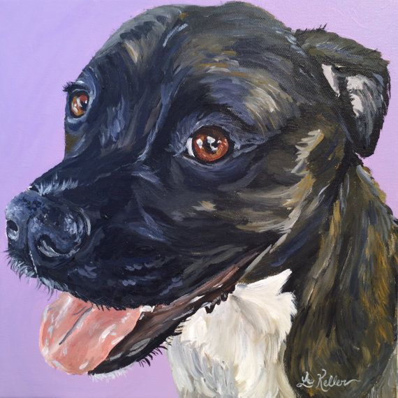 Pit bull art print, Pit bull art, pit bull prints, pit bull dog art, pit bull art prints, pit bull on canvas or paper