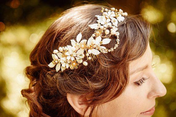 Black Friday Sale WEDDING HEADBAND Bridal by hairbowswonderworld