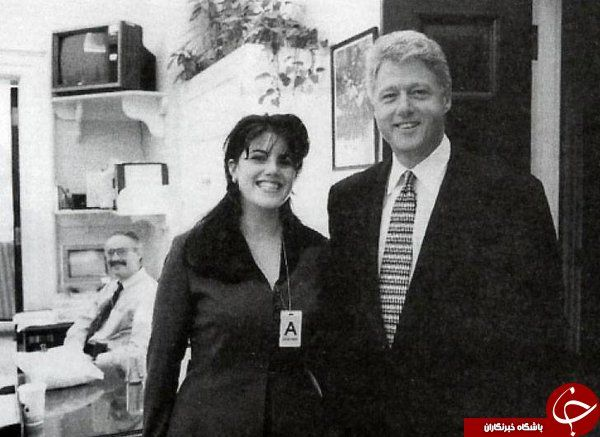 Image result for chernobyl nuclear power plant, reactor #4 Bill Clinton poses for a picture with Monica Lewinsky.