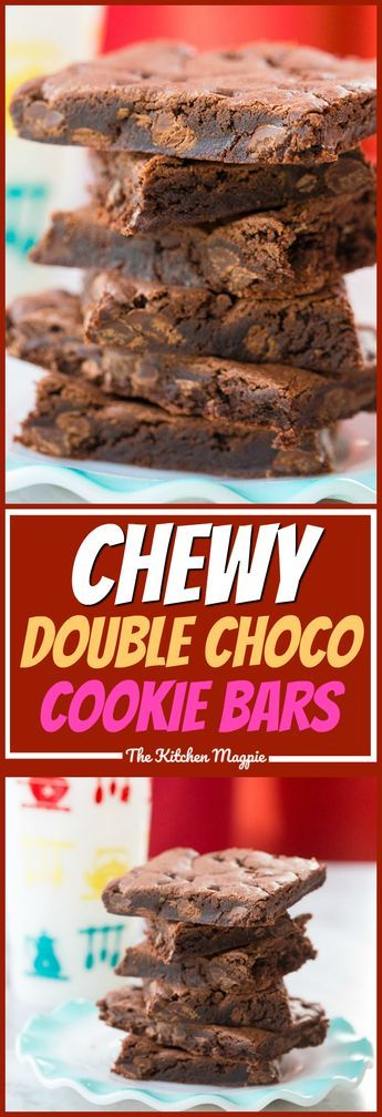These Chewy Double Chocolate Chip Cake Mix Cookies are SO fast to make thanks to using a cake mix to cheat a little! #cookies #dessert #cakemix #chocolatechipcookies #chocolate #recipe