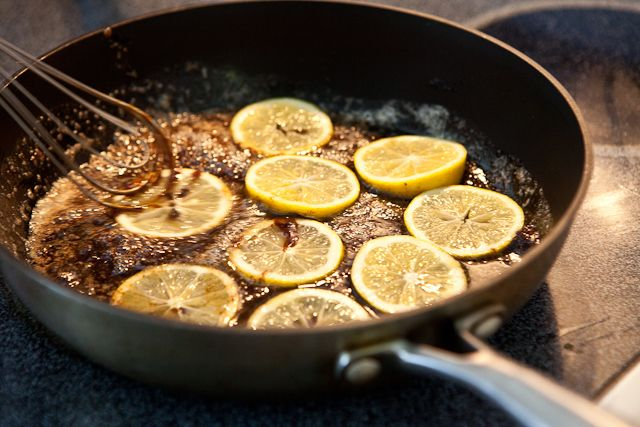 From Steamy Kitchen: Crepes with Salted Lemon Butter Caramel Recipe