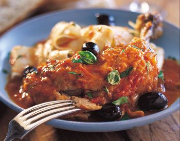 Slow Cooker Recipe For Provencal Chicken Stew   POPSUGAR Food