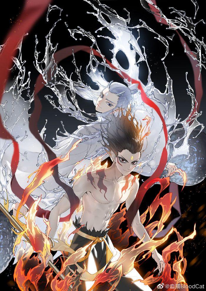 Ne Zha 2019 Fantasy Art Art Anime Fanart