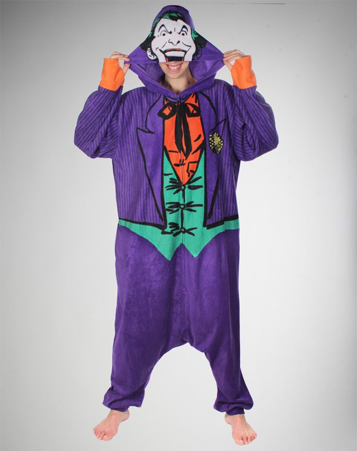 Joker Kigurumi in 2019 One piece pajamas One piece