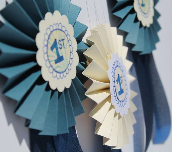 1st Place Blue Ribbon Award  Customizable by artpixie on Etsy, $5.00
