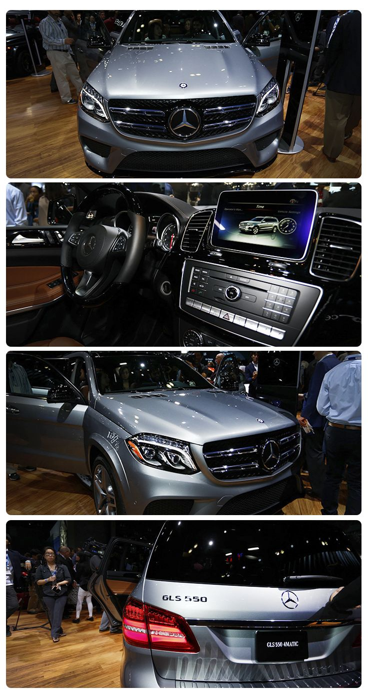 2017 Mercedes-Benz GLS-Class: This full-size, seven-seater luxury SUV used to be the GL, but that was before Mercedes-Benz changed its naming system and gave the vehicle a mid-cycle revamp. Because it's based on the wonderful S-Class sedan, there's now an S in the name. And plenty of tech in the cabin. Some versions even get a nine-speed automatic transmission.