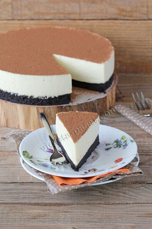 No bake White chocolate cheesecake,smooth,creamy and delicious!