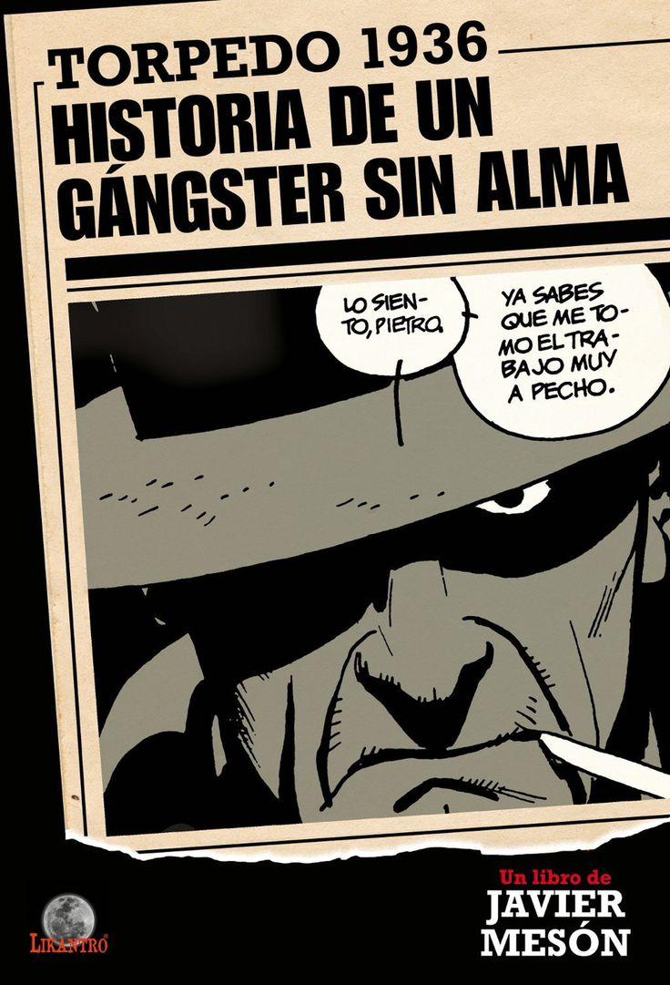 """Esta tarde tenemos a Javier Mesón firmando """"Torpedo 1936 Historia de un Gángster sin alma"""" tarde comiquera en la caseta 24 de la #FLM16. Te esperamos!"""
