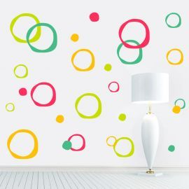 Sticker decorativ Abstract Circles