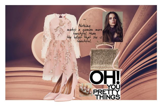 """""""Oh so romantic"""" by tarynbassadien on Polyvore featuring Chi Chi, Topshop and RED Valentino"""