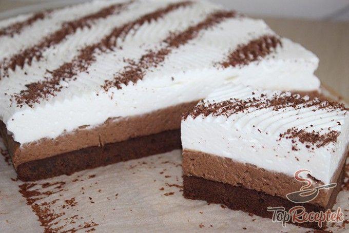 KÁVÉS brownie (FOTÓKKAL)