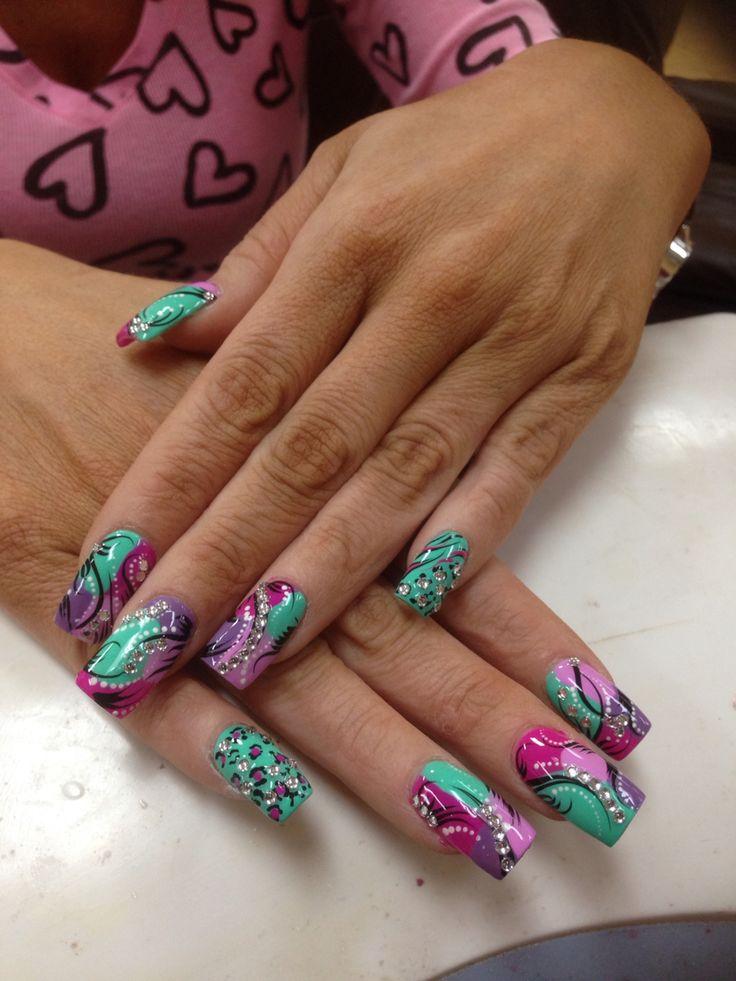 39 best crazy design images on pinterest design nails design crazy design acrylic nailscolornails prinsesfo Gallery