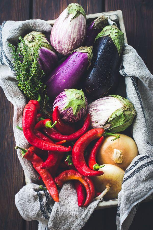 Eggplant, Sweet Pepper, and Bechamel Gratin {Gluten-Free}