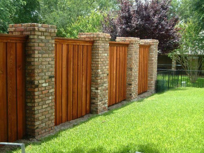 Best 25+ Brick Fence Ideas On Pinterest