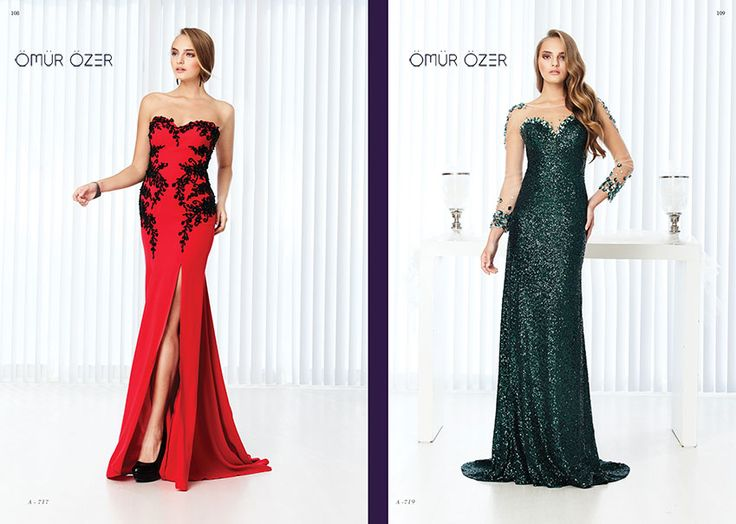 Evening dresses by Ömür Özer 2014