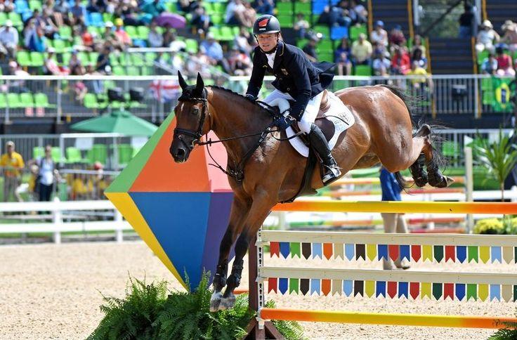 Equestrian Olympics 2016 Rio | Aug 9, 2016; Rio de Janeiro, Brazil; Michael Jung (GER) rides Sam FBW ...