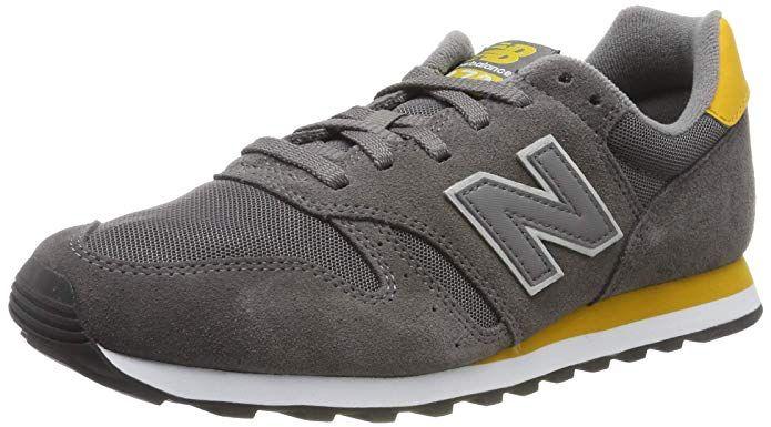 New Balance 373 Core Sneakers Herren Grau/Gelb | Grau gelb ...