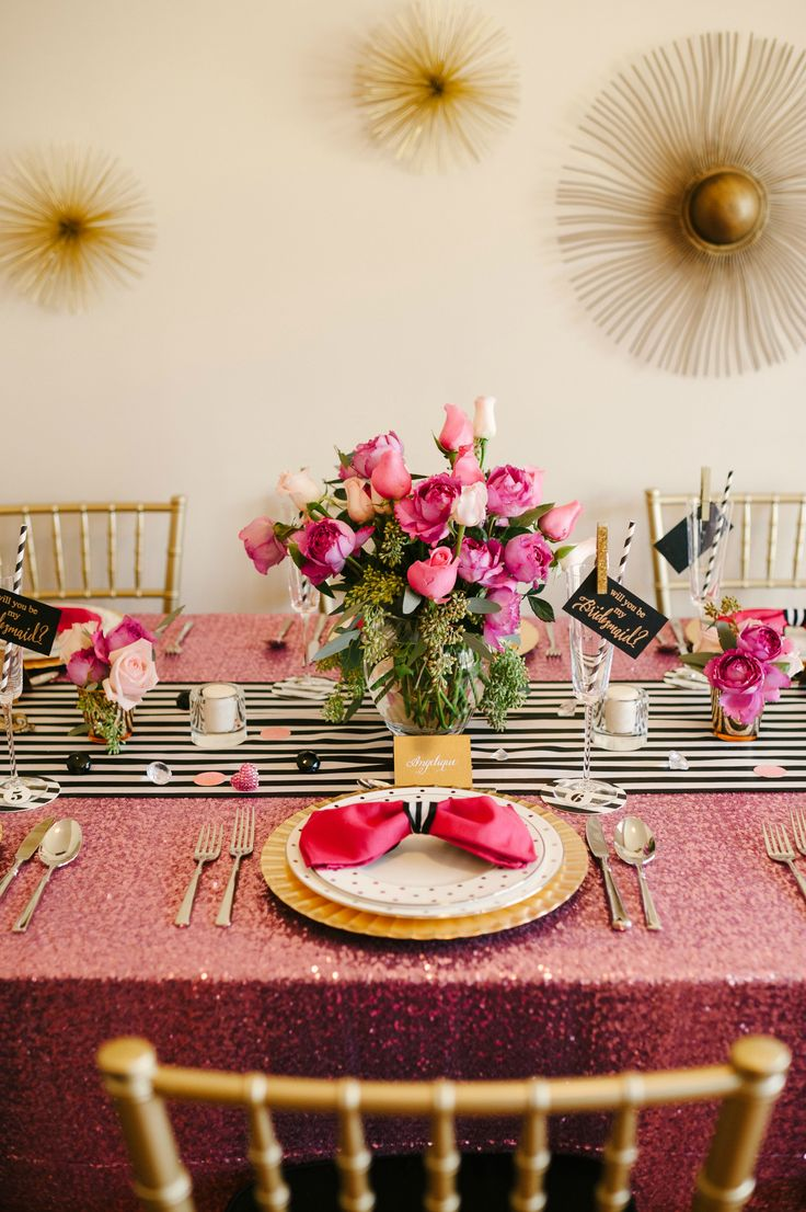 Kate spade bridal shower theme
