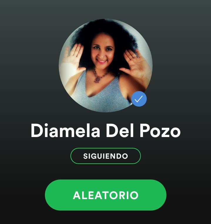 Diamela del Pozo on Spotify · #diameladelpozo #diameladecuba #cantante #compositora #sonera #salsera #rumbera #cubansinger #cantantecubana #Rumba #Salsa #Jazz #Funk #Soul #México #Venezuela #Colombia #PuertoRico #Miami #NYC #BCN #soneros #salseros #chanteuse #afrolatina #mulata #CubanosporelMundo #salsadura #lasalsavive #singer #cubans #cubanmusic #recordingartist #music #cubana #latina #CeliaCruz #azúcar #followme #sigueme #indieartist #música #songwriter