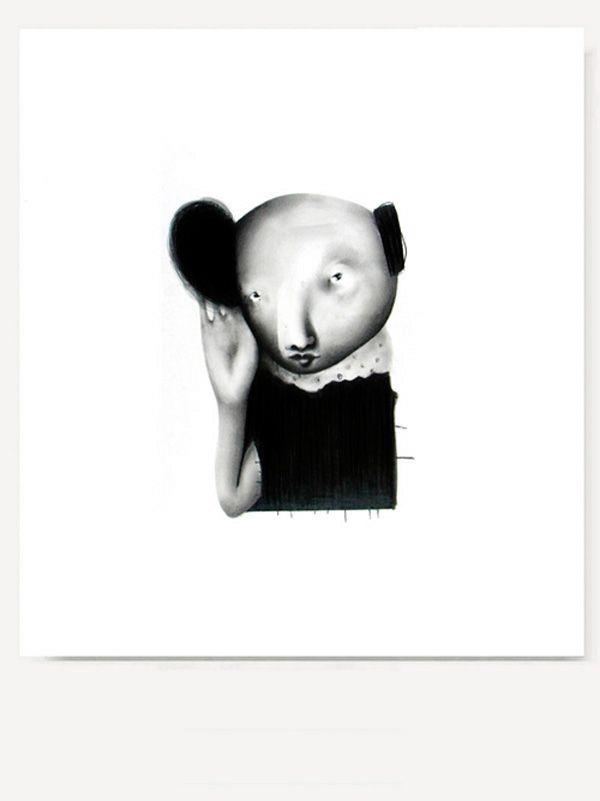 littlechien, lustik: Drawings by HIROYUKI NISHIMURA. Lustik:...