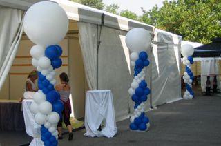 Оформление презентаций, выставок воздушными шарами. Недорого