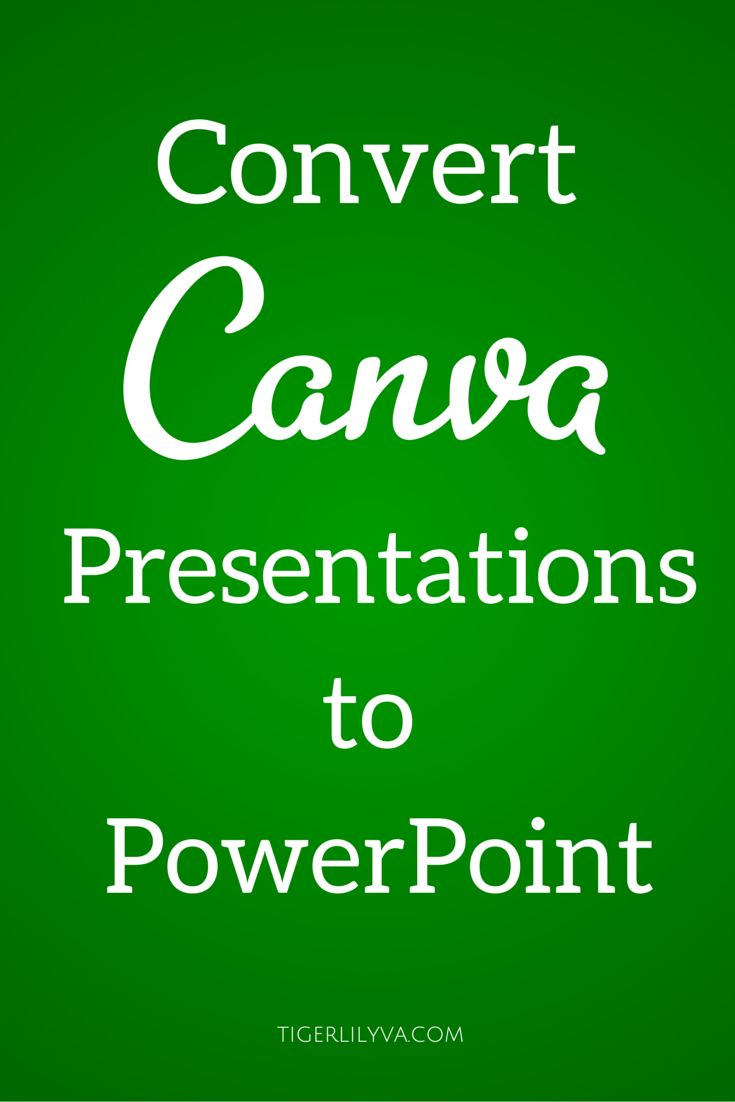 how to make a presentation into a video