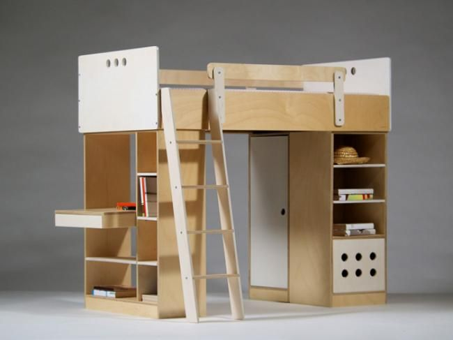 So Cool Loft Bed Adjustable Height With Desk Closet
