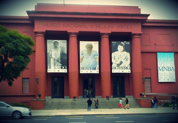 Museo Nacional de Bellas Artes en Baires, Buenos Aires C.F.