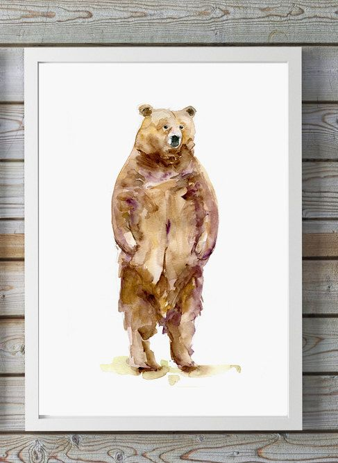 25+ best ideas about Bear Watercolor on Pinterest | Nature ...