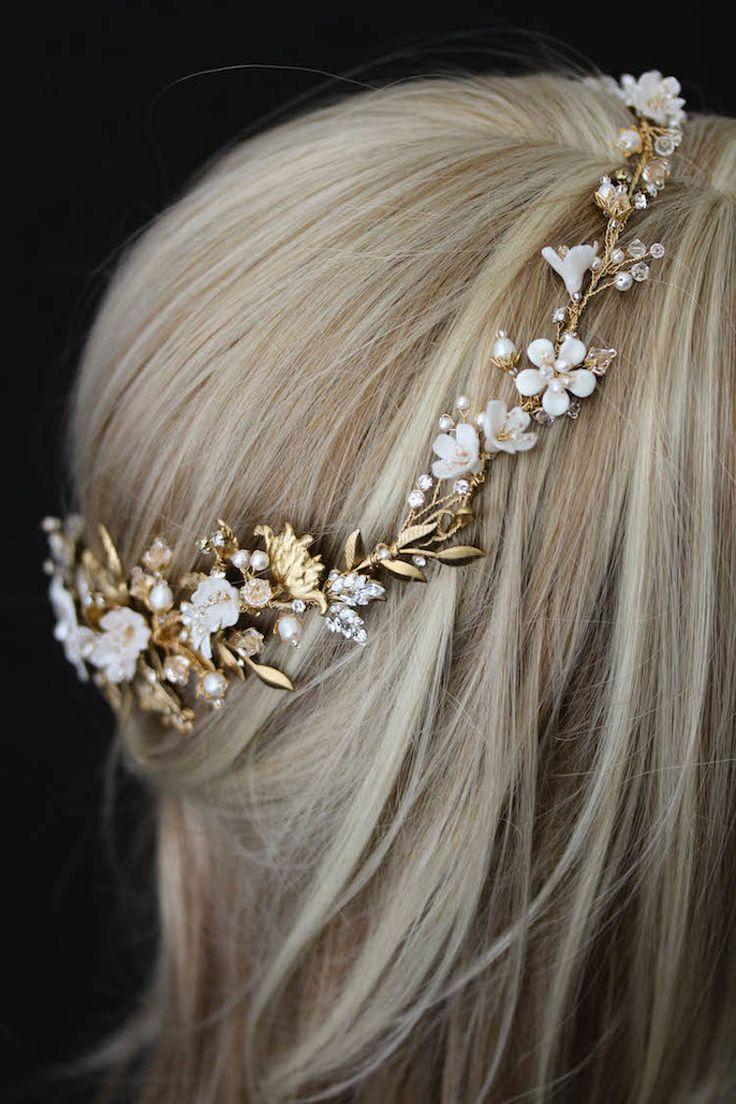 Be Bespoke Bridal Headpieces Ireland - Bespoke for saba_a gold wedding halo for saba 2