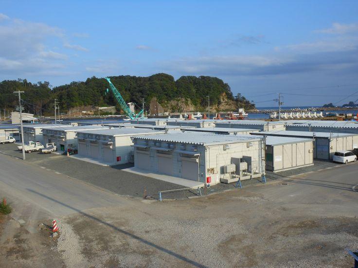 ≪Present Tree in 宮古≫ 被災地視察_20121007 水揚げされた海産物の加工場です。