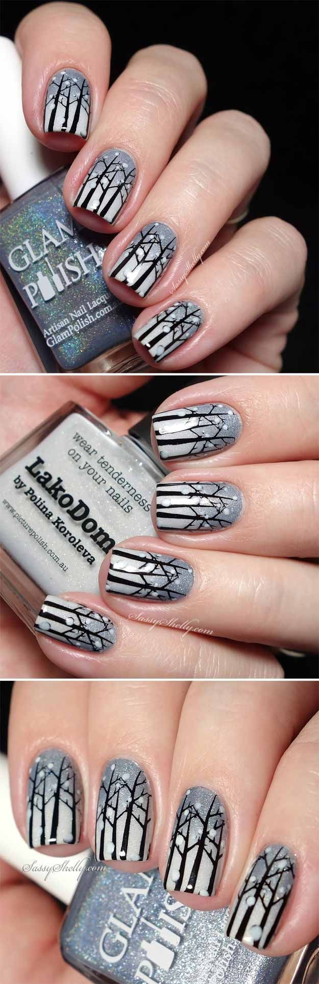 The 25 best candy cane nails ideas on pinterest christmas nail 35 christmas nail art designs prinsesfo Choice Image