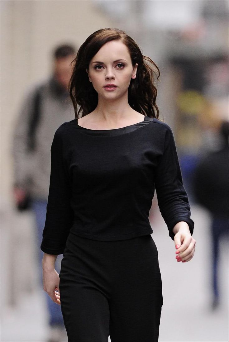 """This is my costume. I'm a homicidal maniac. They look just like everyone else."" --Christina Ricci"