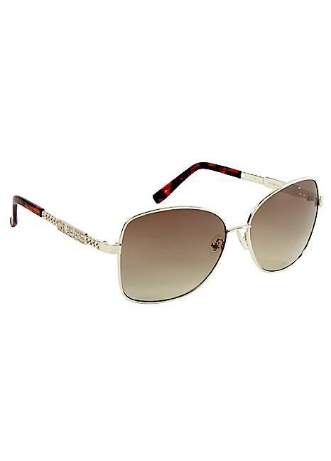 Guess Metal Rim Sunglasses  #Kaleidoscope #holiday #jetsetting