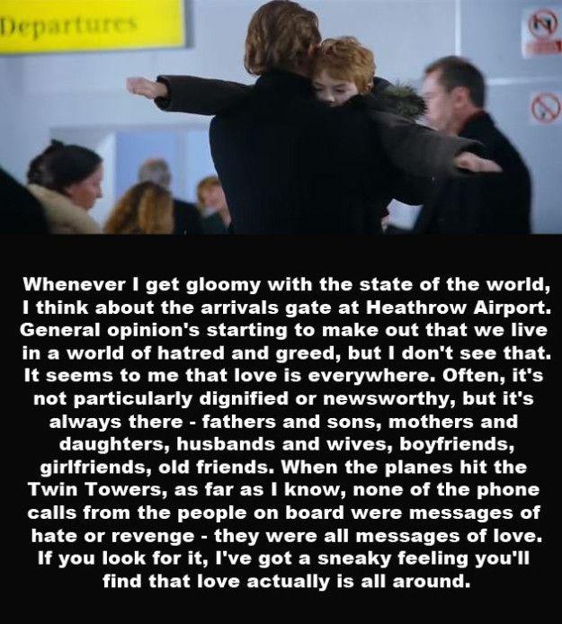 Love Actually Quotes: 17 Best Love Actually Quotes On Pinterest